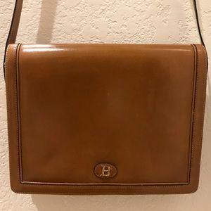 Vintage Bally Leather Shoulder Bag